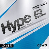Hype EL Pro 40.0 rubbers in ireland