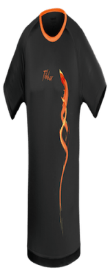DRAGON TShirt black orange in Ireland
